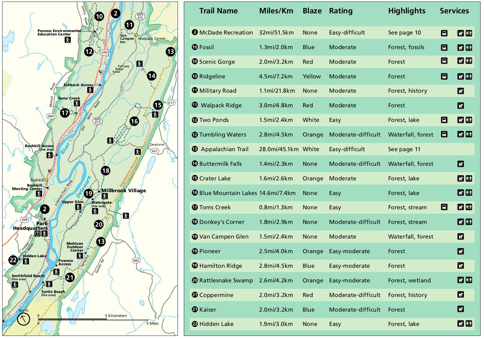 Delaware Water Gap Maps Npmaps Com Just Free Maps Period