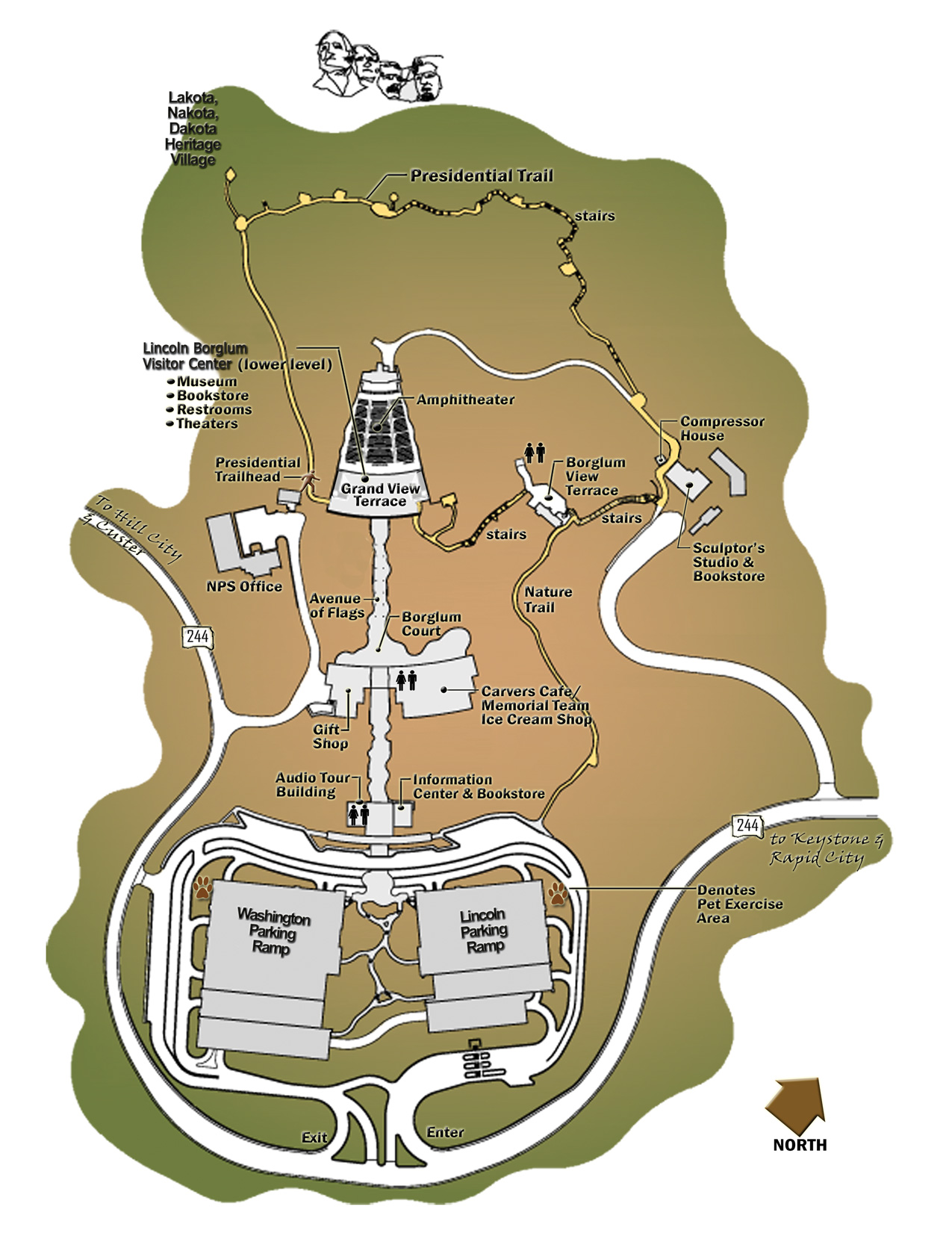 Mt Rushmore Map Mount Rushmore Maps | NPMaps.  just free maps, period. Mt Rushmore Map