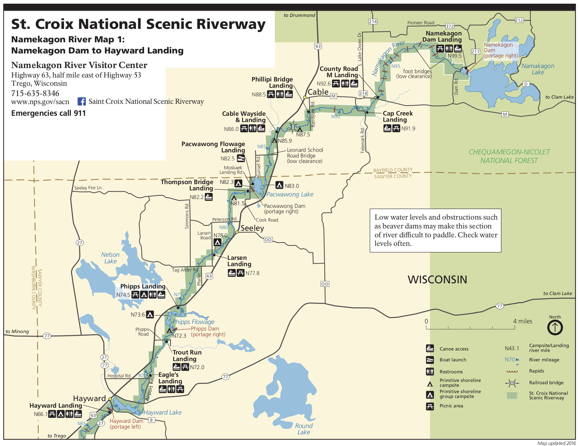 St Croix River Map Saint Croix Maps | NPMaps.  just free maps, period.