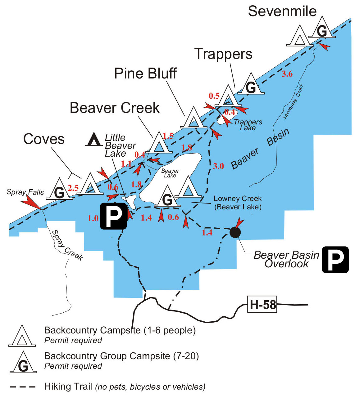 Pictured Rocks Map Pictured Rocks Maps | NPMaps.  just free maps, period.