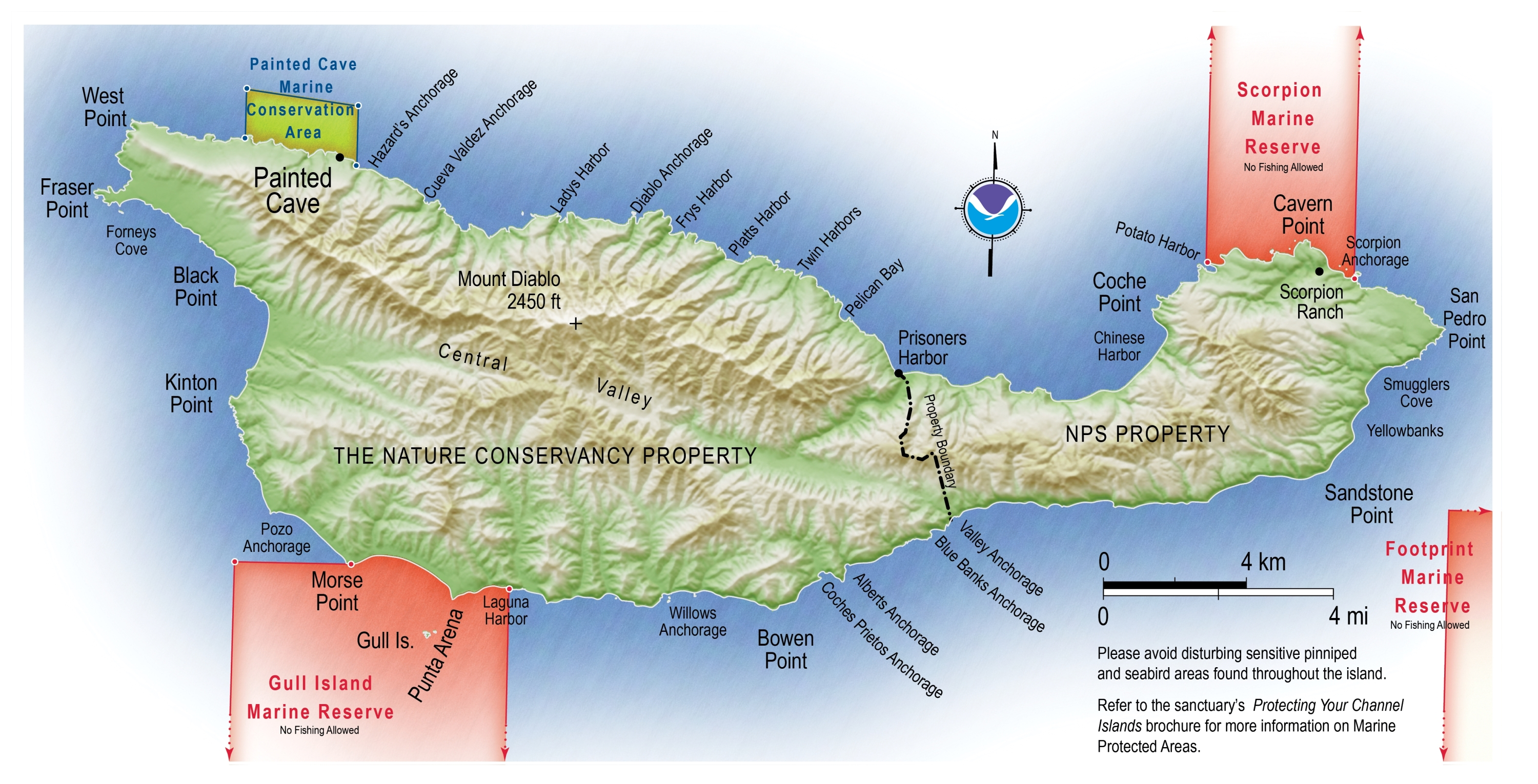 Santa Cruz Islands Map Channel Islands Maps | NPMaps.  just free maps, period.