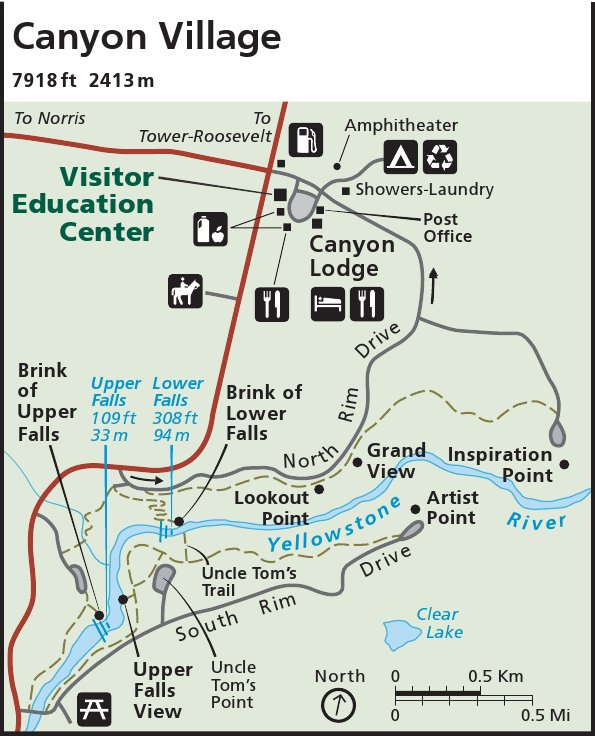 Map Of Yellowstone Campgrounds Yellowstone Maps | NPMaps.  just free maps, period. Map Of Yellowstone Campgrounds